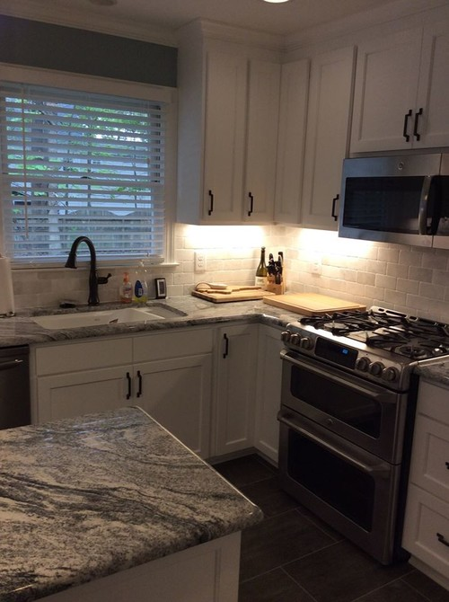 Subway Tile Amp Granite Counters Remodel W D Smith