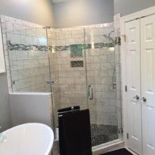 Raleigh custom bathroom remodel