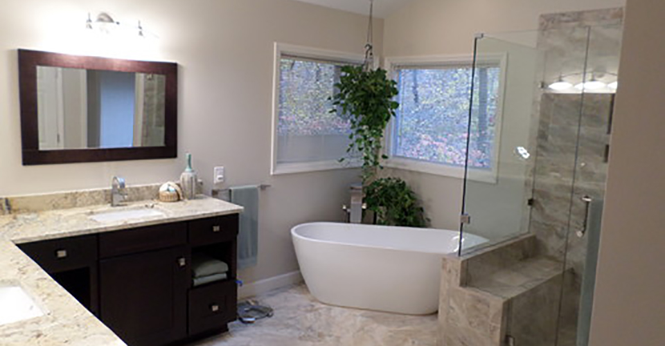 Raleigh NC Master Bathroom Remodeling WD Smith Construction Simple Master Bathroom Remodeling Model