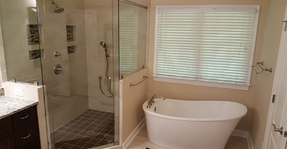 Full Shower & Bathtub Remodel & Upgrade | W.D. Smith Construction