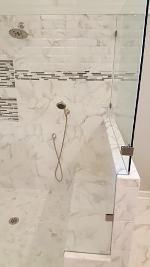 New Shower System