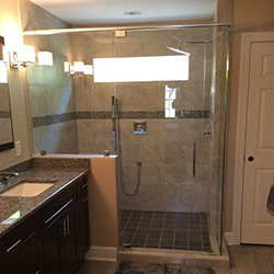 New Walk-in Shower