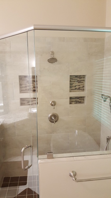 New Shower Feature