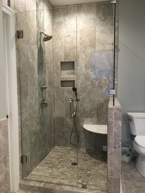 Bathroom Shower Remodeling Upgrade WD Smith Construction Enchanting Bathroom Remodeling Cary Nc