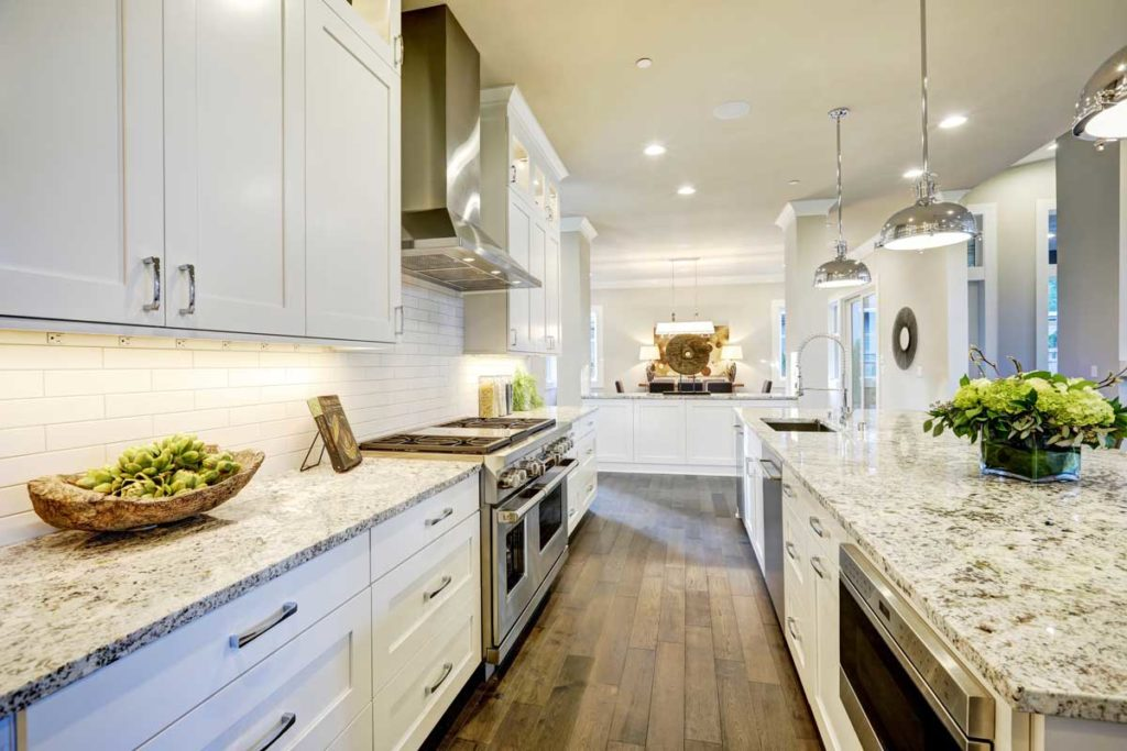 White Kitchen Cabinets Raleigh