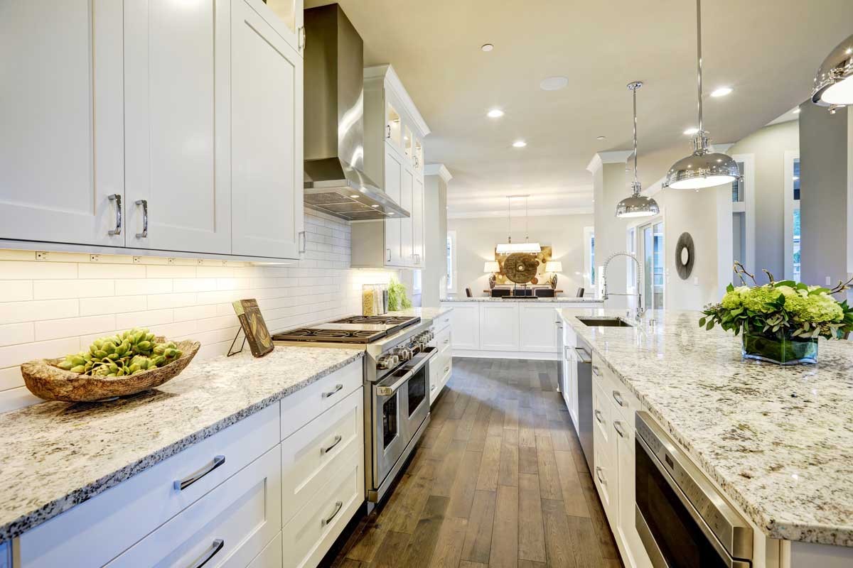 White Kitchen Cabinets // Accents Color and Care & White Kitchen Cabinets // Accents Color and Care - WD Smith ...